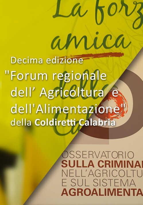 Forum regionale Agricoltura e Alimentazione