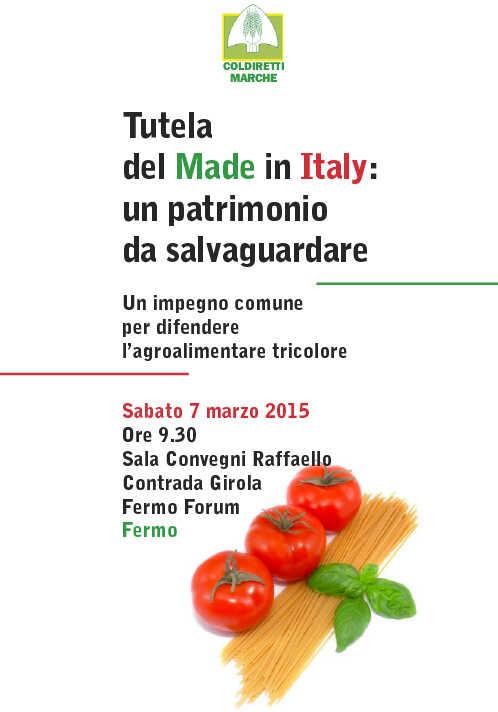 Tutela del Made in Italy: un patrimonio da salvaguardare
