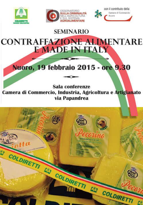 Contraffazione alimentare e Made in Italy