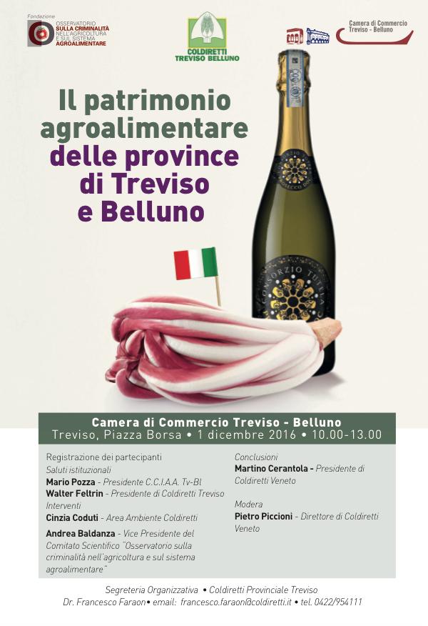 Il patrimonio alimentare delle province di Treviso e di Belluno