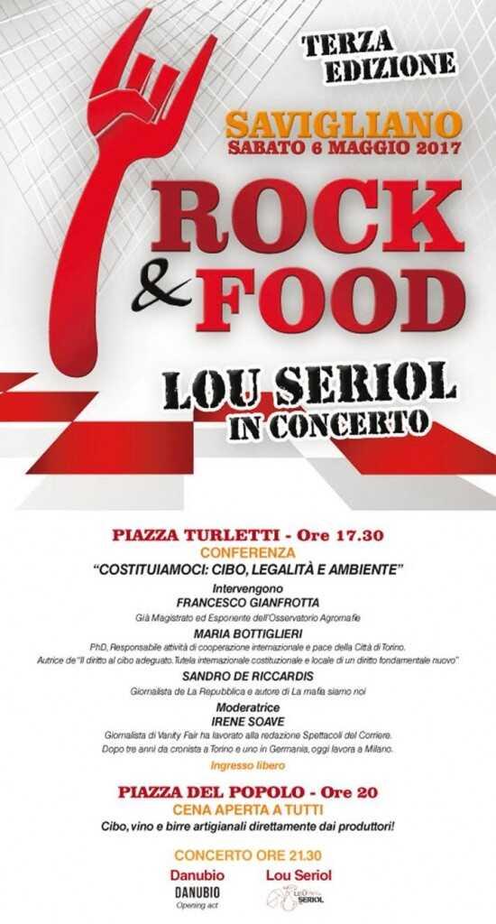 Terza edizione Rock & Food