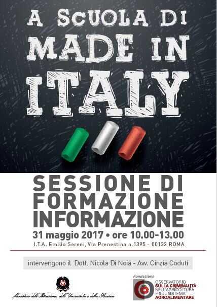 A scuola di Made in Italy