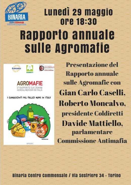 Rapporto annuale sulle agromafie
