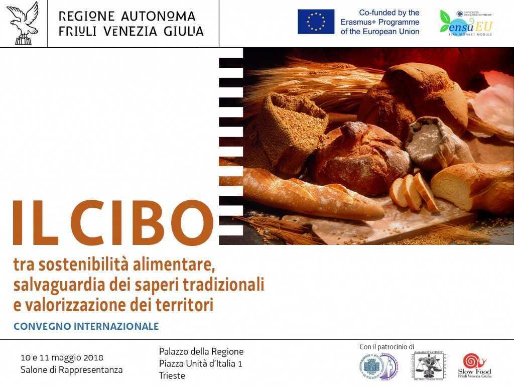 Il cibo tra sostenibilità alimentare, salvaguardia dei saperi tradizionali e valorizzazione dei territori