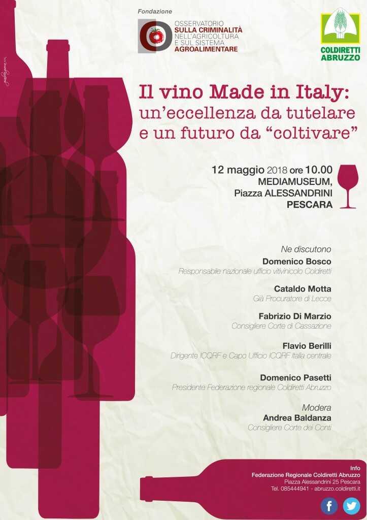 """Il vino Made in Italy: un'eccellenza da tutelare e un futuro da """"coltivare"""""""
