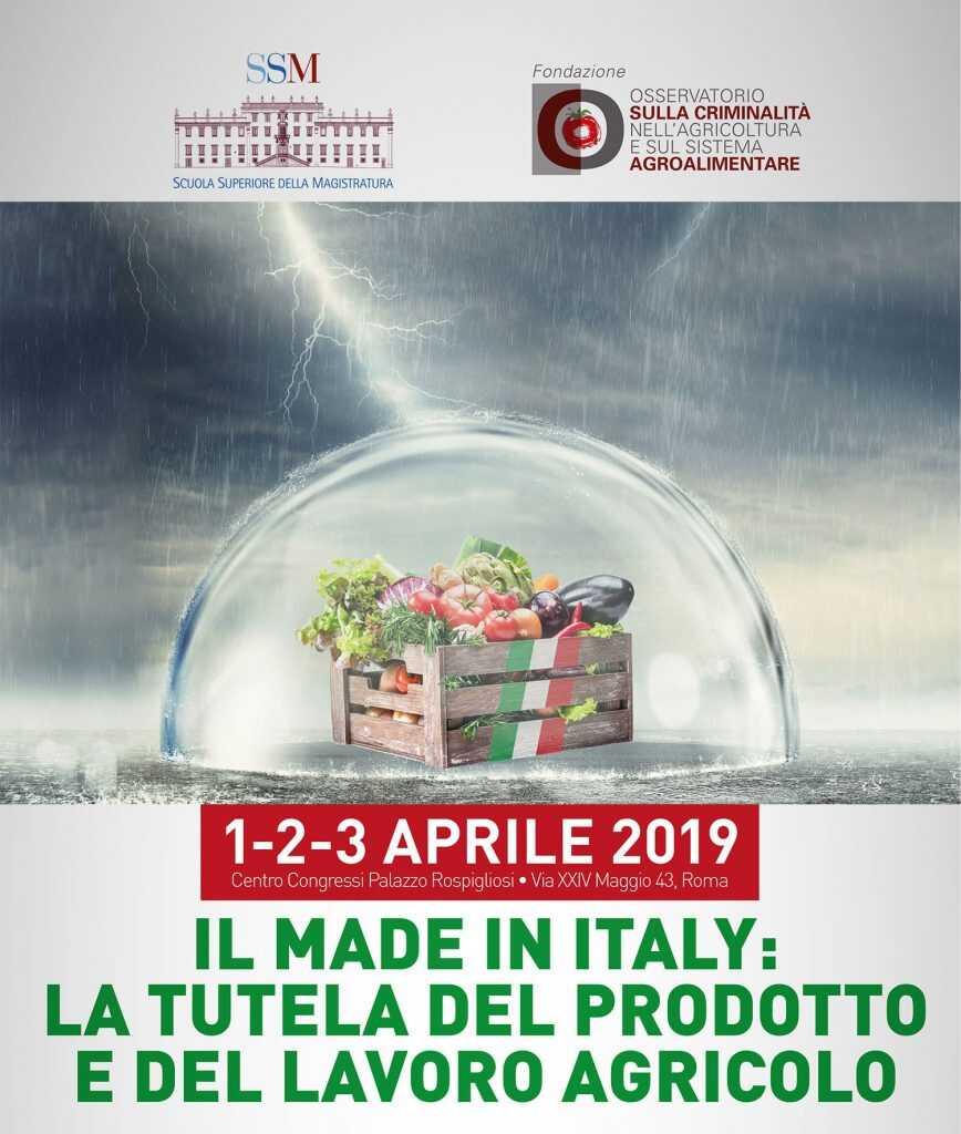 Il Made in Italy: la tutela del prodotto e del lavoro agricolo