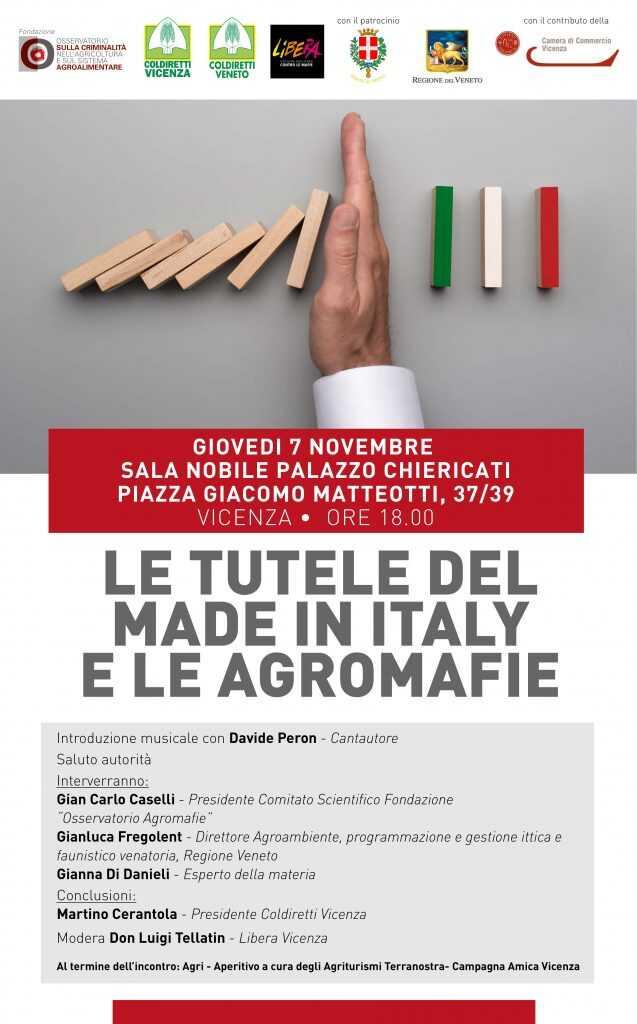 La tutela del Made in Italy e le agromafie